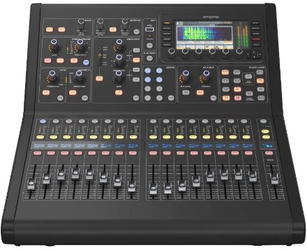 Midas Digital Console for Live and Studio with 40 Input Channels, 16 Midas PRO Microphone Preamplifiers, and 25 Mix Buses and Live Multitrack Recording (M32RLIVE)