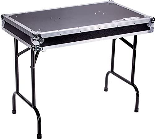 DEEJAYLED TBH FLIGHT CASE UNIVERSAL FOLD OUT DJ TABLE IN 36WX21DX30