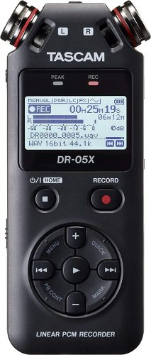 Tascam Stereo Handheld Digital Recorder and USB Audio Interface