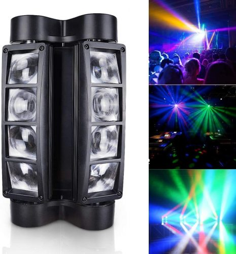 Betopper Mini Spider Moving Head Stage Light LED DJ Lighting RGBW - DJ Light Solutions