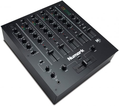 Numark M6 USB | 4-Channel DJ Mixer with On-Board Audio Interface