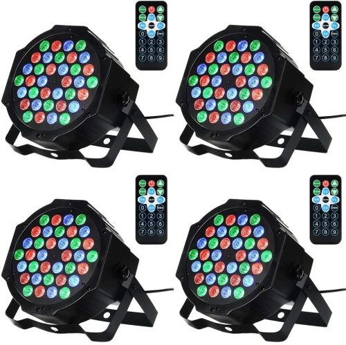 Litake 36LED Par Lights for Stage Lighting with RGB Magic Effect - DJ Light Solutions