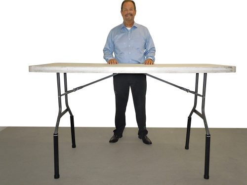 Lift Your TableTM Folding Table risers Extenders