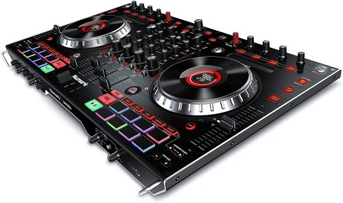 Numark NS6II | 4-Channel DJ Controller For Serato DJ (Included) With Dual USB Ports For Handoffs