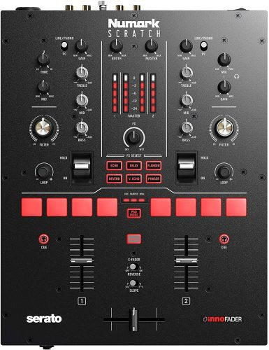 Pyle 6 Channel Mixer, Bluetooth DJ Controller, Stereo Mixer, Professional Sound System, LED Illumination, Mixer Digital Audio, Digital Mixing System, Speed