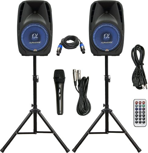 Pair Alphasonik All-in-one 12 - DJ Speaker Packages