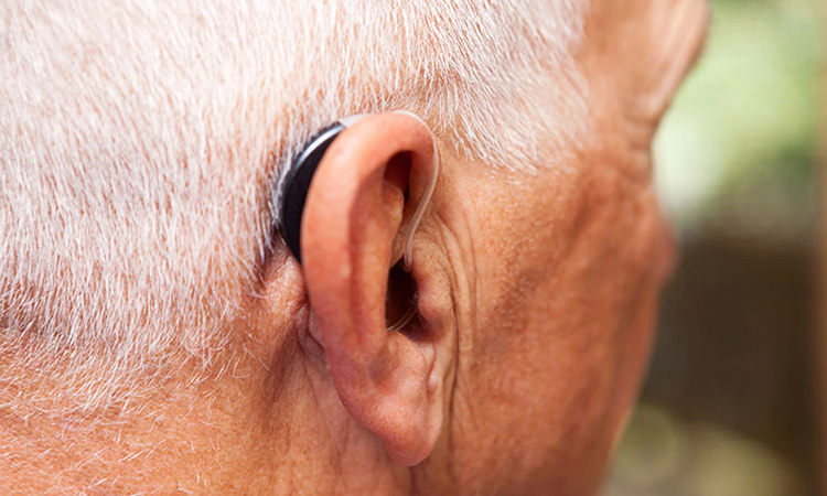 Behind the Ear Hearing Amplifier
