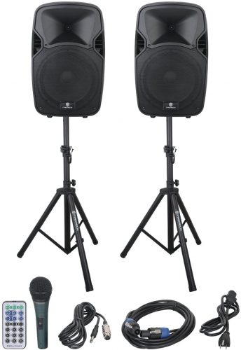 PRORECK PARTY 12 Portable 12-Inch Woofer 2-Way - DJ Speaker Packages