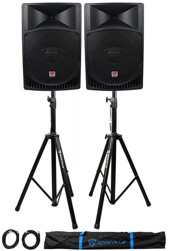 "Pair Rockville RPG15 15"" 2000w - DJ Speaker Packages"