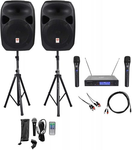 Rockville Dual 12 DJ Speaker Packages - DJ Speaker Packages