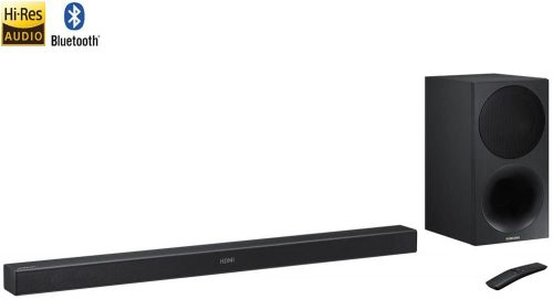 Samsung HW-M450/ZA 320W 2.1ch Soundbar w/ Wireless Subwoofer – (Renewed)
