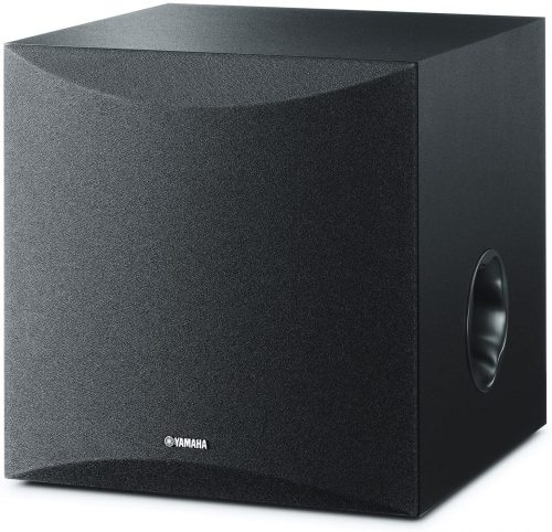 "Yamaha 8"" 100W Powered Subwoofer - Black"