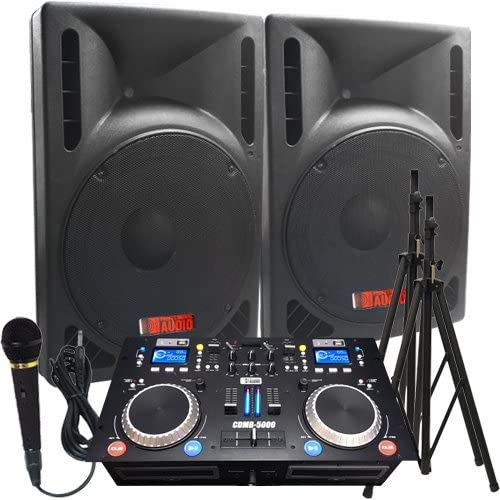 The Ultimate DJ System - 2400 WATTS - DJ Speaker Packages