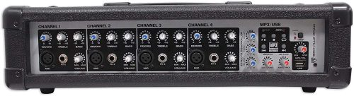 Rockville RPM45 2400w Powered 4 Channel Mixer
