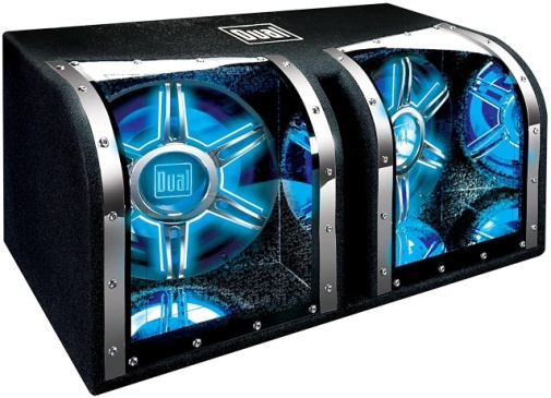 Dual Electronics BP1204 12 inch illumiNITE High-Performance Studio Enclosed Car Subwoofers - Woofer