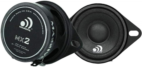 Massive Audio MX2-2 Inch / 20-Watt Full Range Speakers, Pair
