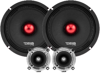 DS18 PRO-X64.BMPK Mid and High Complete Package - Mid Range Speakers