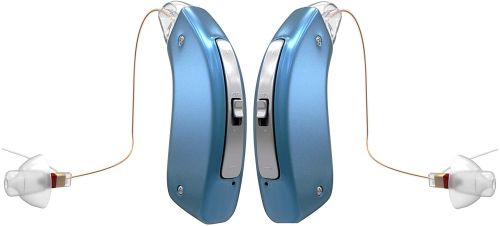 Britzgo 1704 Hearing Amplifier - Noise Cancelling Model - CIC Hearing Aid