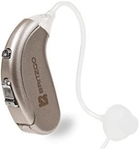 Small, Lightweight Designed for Comfort in Mind - Britzgo 702 Digital Hearing Amplifier with Noise Cancellation Technology