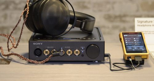 Sony Headphone Amplifier