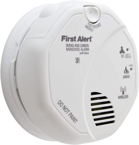 First Alert Wireless Smoke Sensors