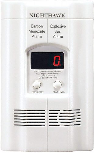 Kidde AC Plug-in Gas Detector Alarm