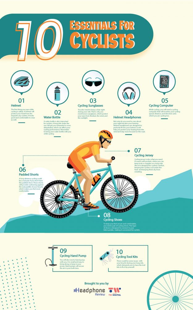 10 Essentials For Cyclists
