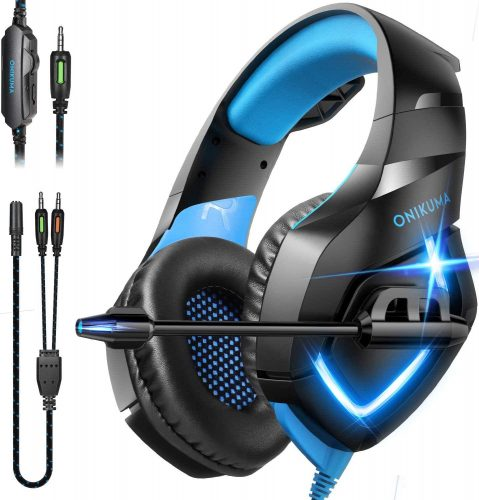 ONIKUMA Gaming Headset - Over Ear Gaming Headphone with Microphone