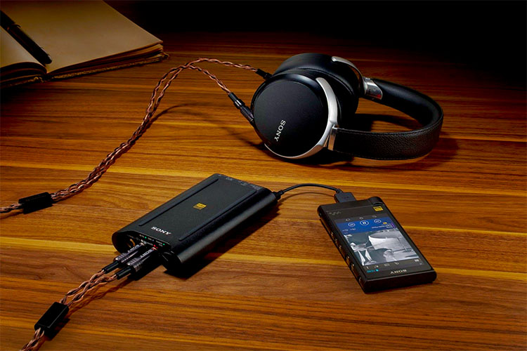 Sony Headphone Amplifiers